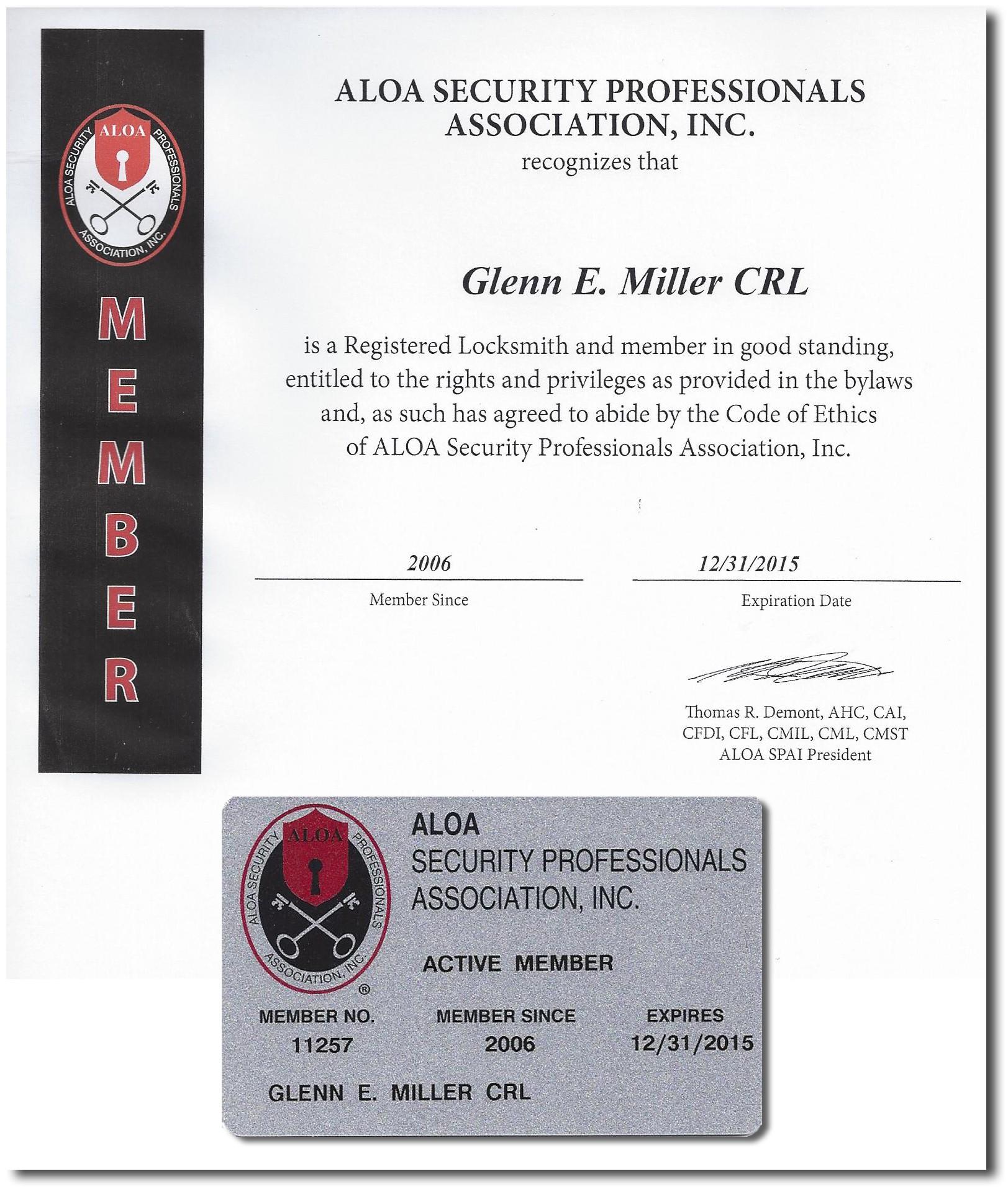 Glenn Miller Safe & Lock | Rochester, NY