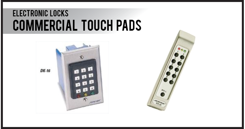 Commercial Touch Pads