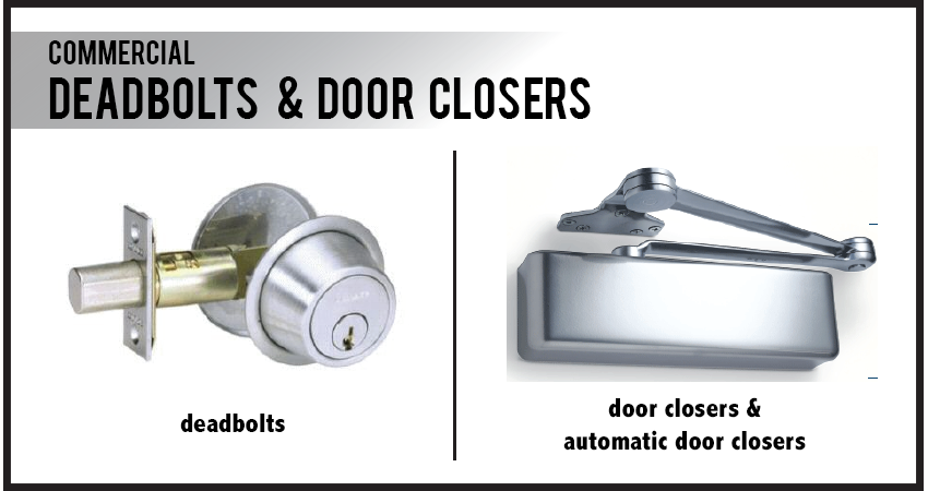 Deadbolts & Door Closers