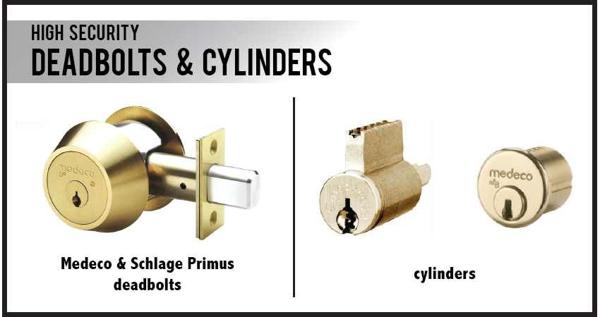 Deadbolts & Cylinders