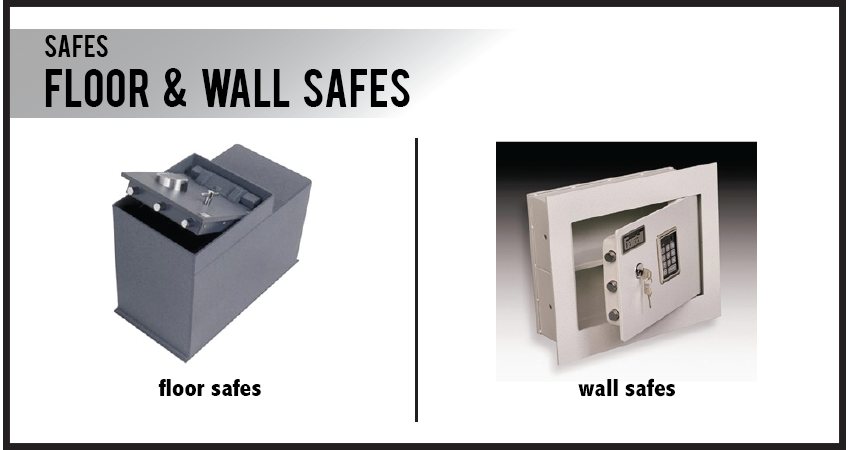 Floor & Wall Safes