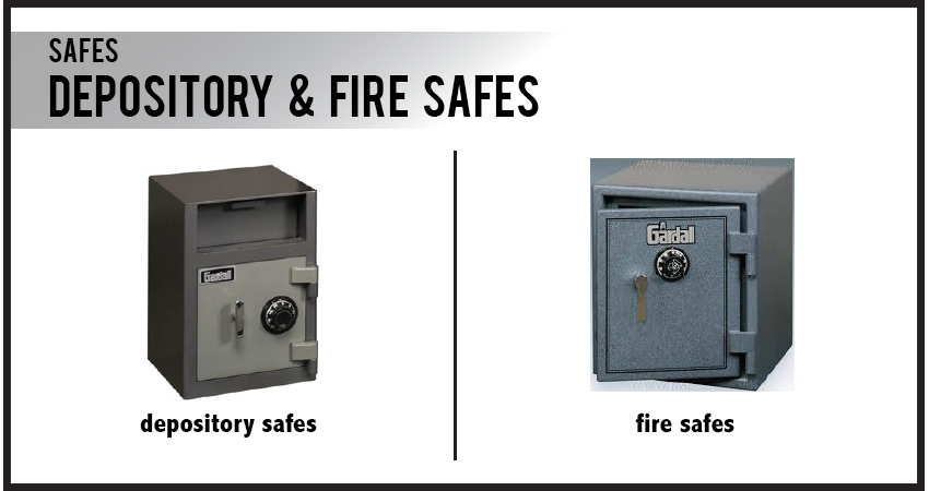 Depository & Fire Safes