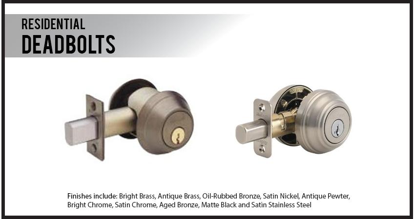 Residential Locks Glenn Miller Safe Amp Lock